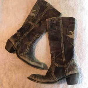 Women Mark Nason Boots On Poshmark